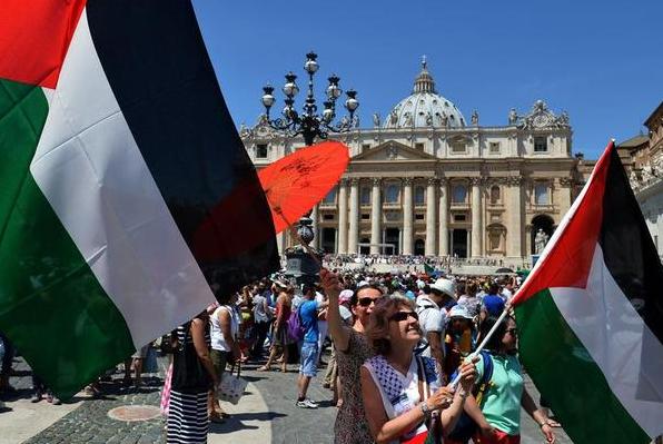 vatikan mengakui kemerdekaan palestina