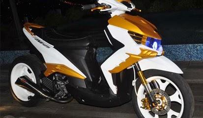 Tips Modifikasi Yamaha GT 125 Dengan Ban dan Pelek AfterMarket