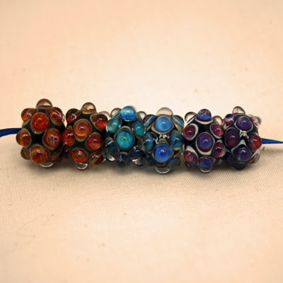 artisan lampwork glass beads