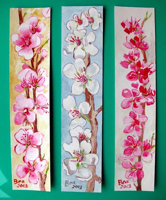 Marcadores de Livros  127 Amendoeiras em Flor