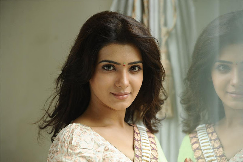 Telugu Lovely Actress Samantha Exclusive Cute Saree Stills unseen pics