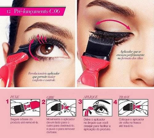 Mega Cílios Avon dicas de aplicação da Máscara