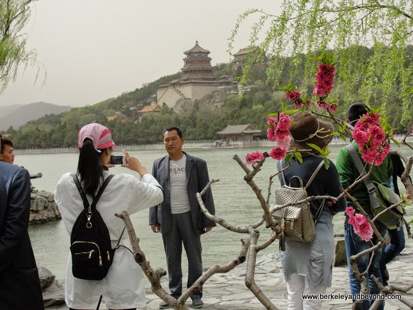 view of palaces in Summer Palace in Beijing, China