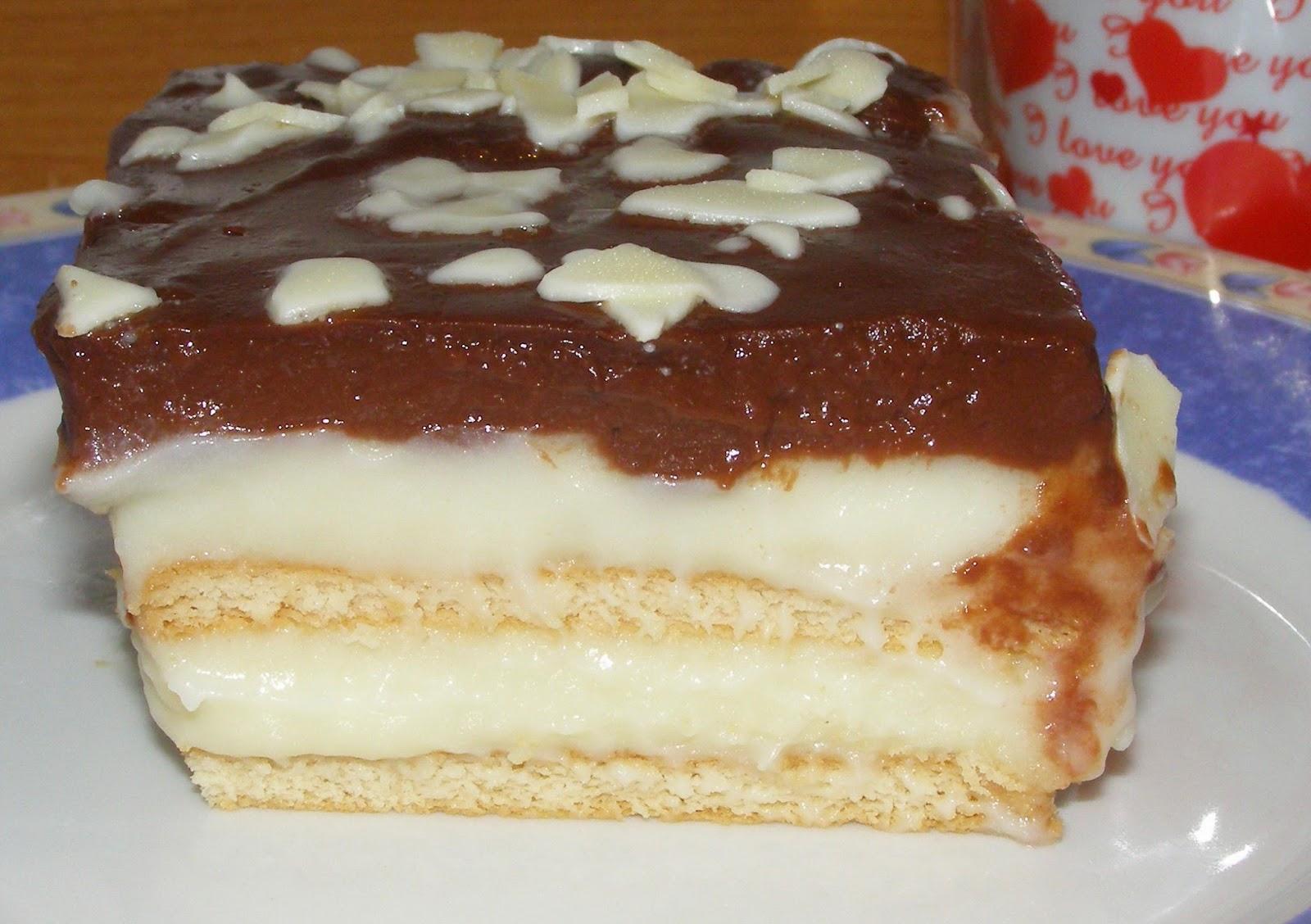 Γλυκό ψυγείου βανίλια σοκολάτα