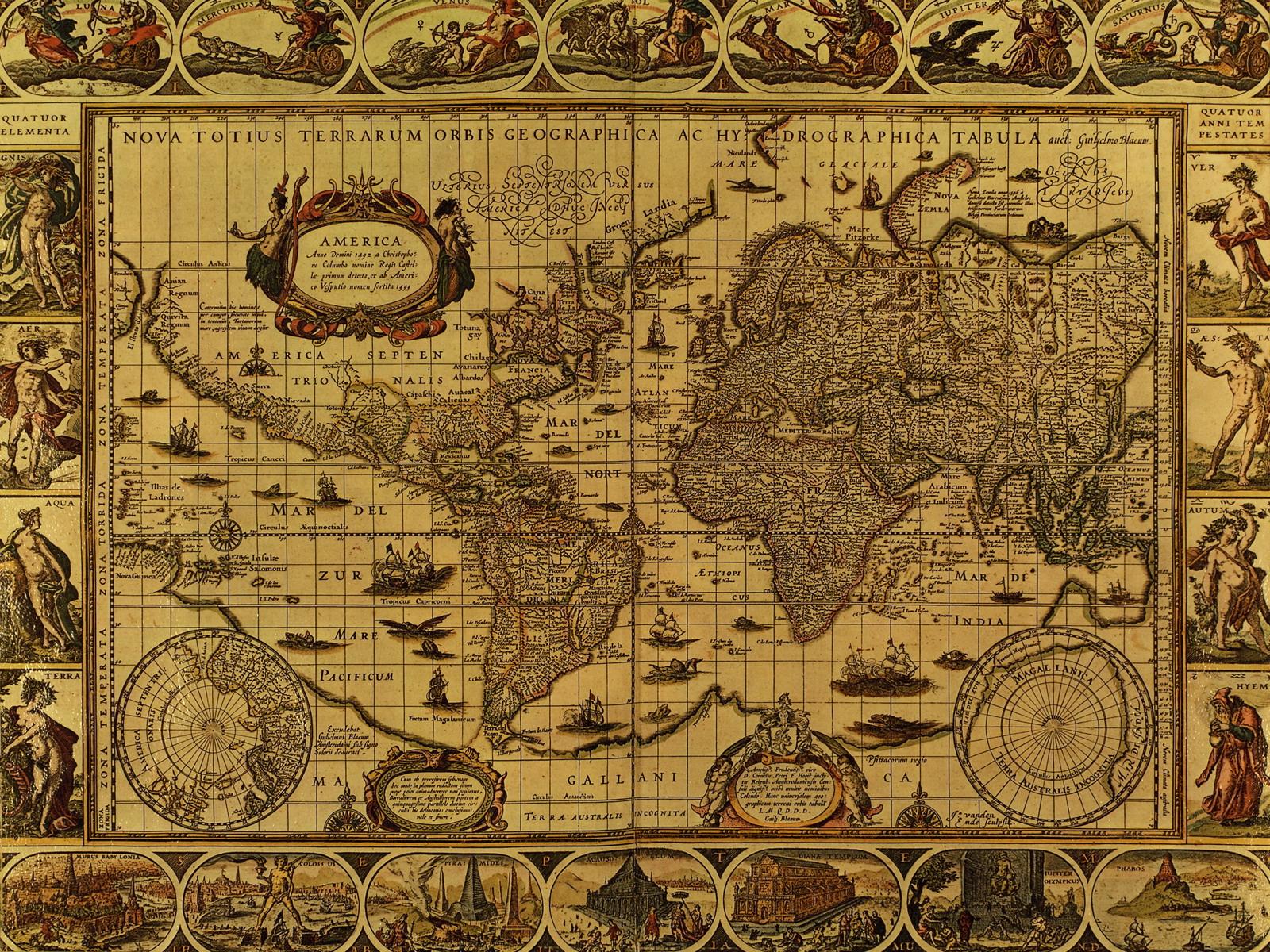 Stare geografske mape i karte - Page 6 031_Antique%2BWorld%2BMap%2BCirca%2B1499