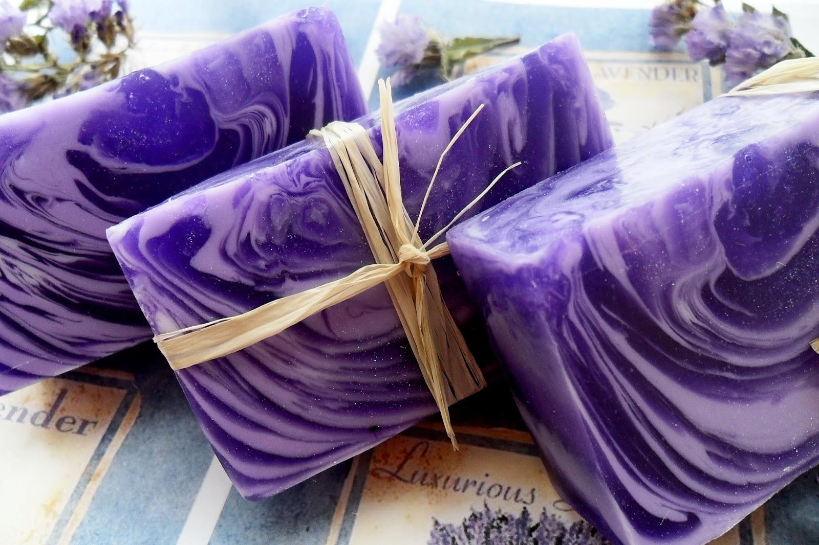Лавандовое мыло ручной работы рецепт - Подарок на День 389