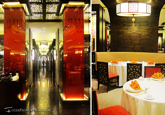 Foodie from the Metro - Mabuhay Palace Vegetarian Menu Ambiance