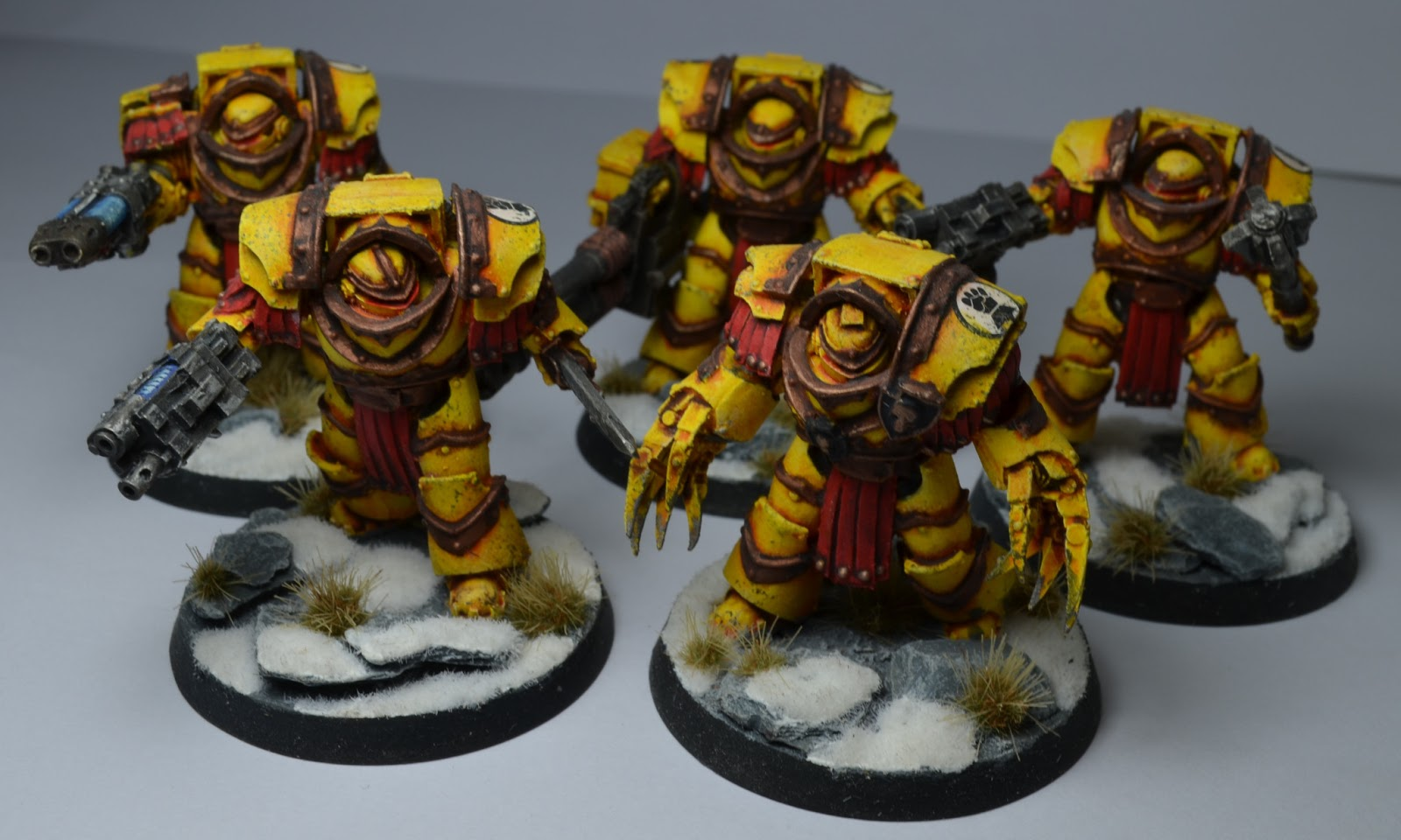 Pre heresy imperial fists