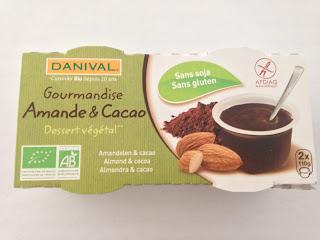 Gourmandise amande & cacao Danival