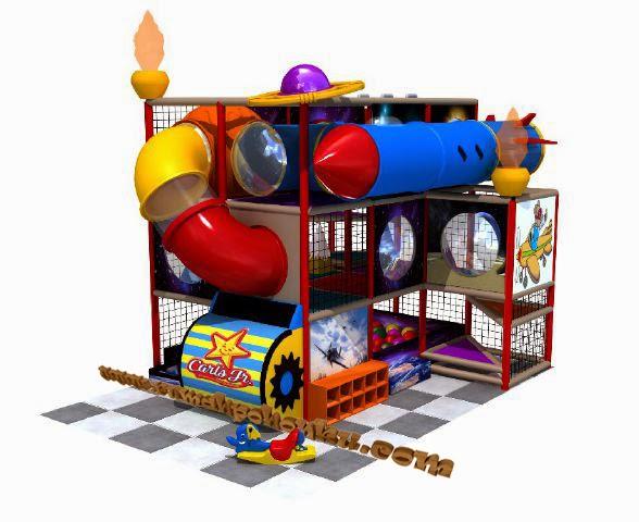 desain indoor playground Indonesia