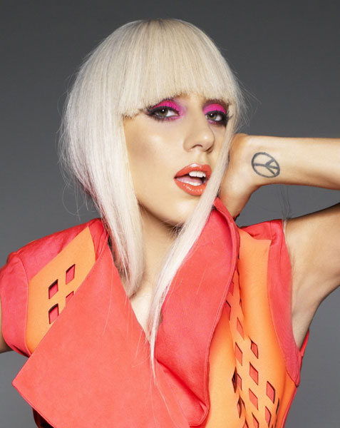 10 Lady Gaga Make Up Looks Ideas