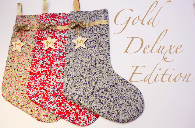 meg-made Liberty London Christmas Stocking