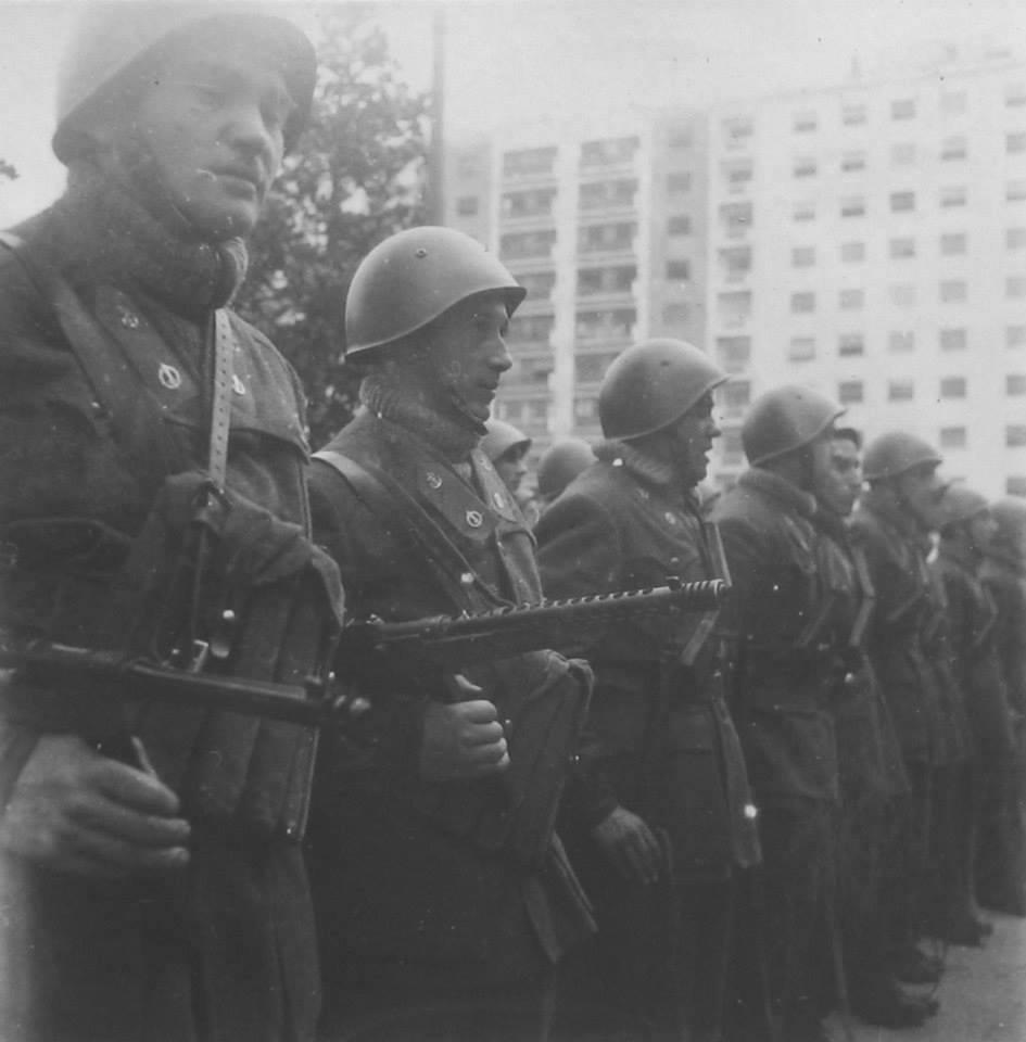 Milano Piazzale Fiume 26 aprile 1945