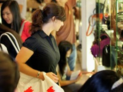 New data collection technology in shopping centers