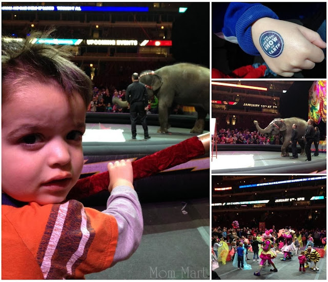Ringling Bros. and Barnum & Bailey's Built To Amaze event #Review