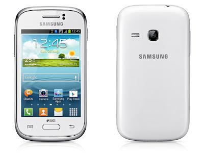 Samsung Galaxy Frame y Samsung Galaxy Young