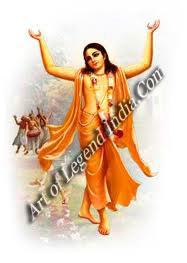 Chaitanya, the Bengali mystic who considered Krishna to be his divine beloved