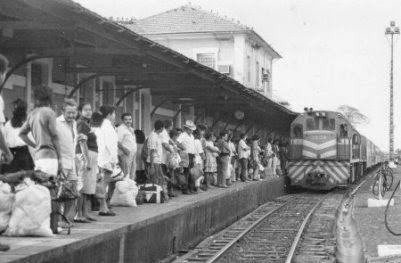 Estação Ferroviária de Campo Grande em 1980
