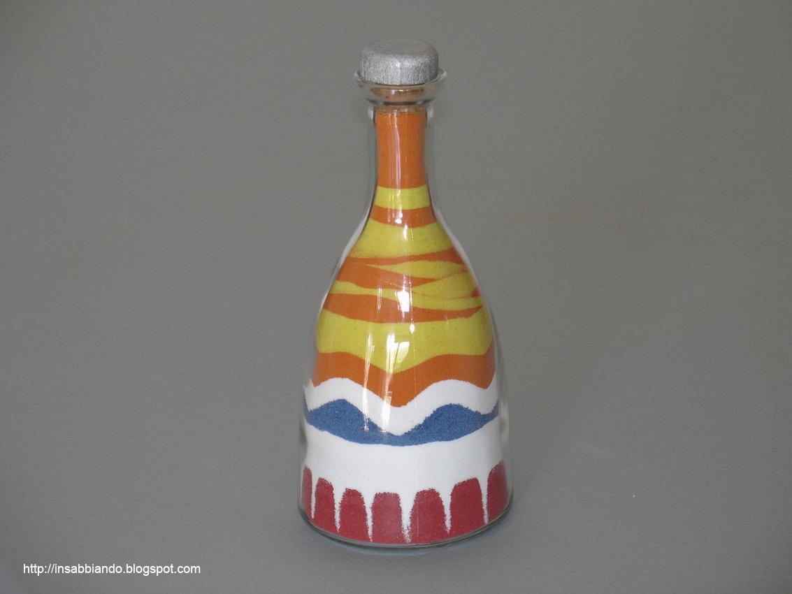 inSABBIAndo: Tutorial: come decorare una bottiglia con ...