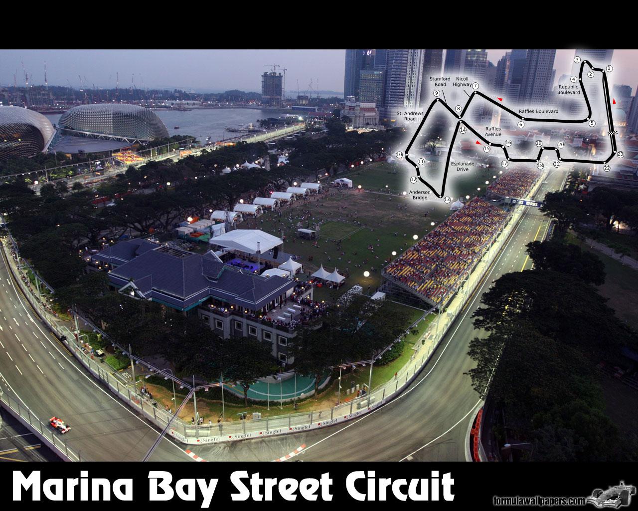 Circuito Singapur : Gran premio singapur 2011 velocidadmaxima.com