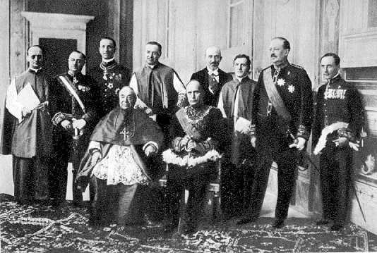 Przedpokoj do Holokaustu: Traktat Lateranski, Mussolini-Pius XI