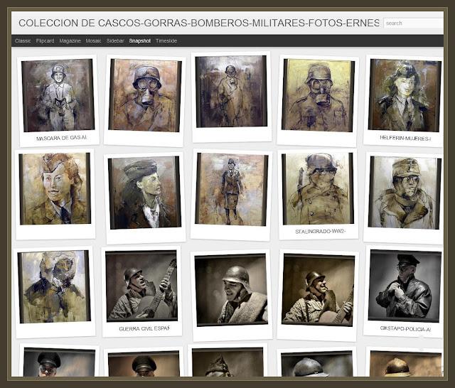 COLECCION DE CASCOS-PINTURAS-ARTE-FOTOS-ERNEST DESCALS-