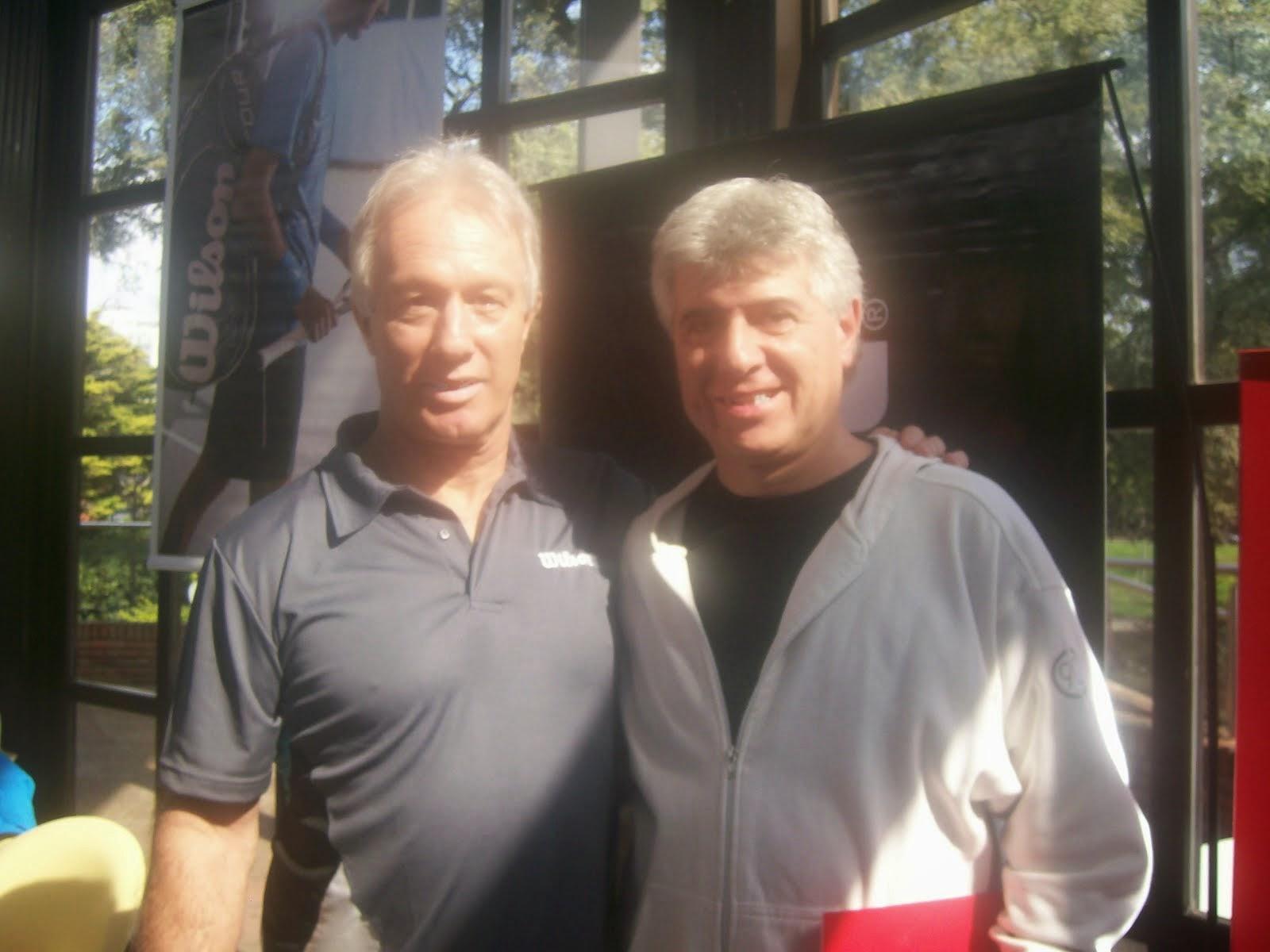 Con Tony Pena (Coach y comentarista de ESPN)