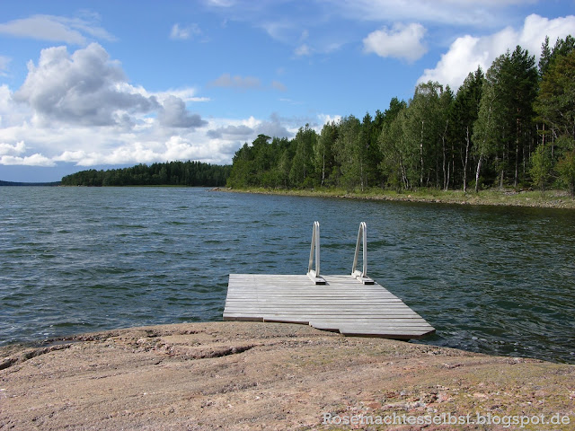 Finnland Schären Sommer Insel
