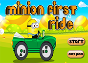 Minion first Ride