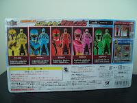 Legend Sentai Ranger Key Set Magiranger Back Bandai Super Sentai Gokaiger