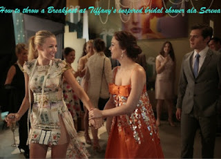 Serena throws Blair a Breakfast at Tiffany's inspired bridal shower