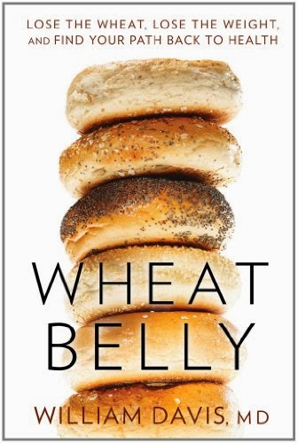Wheat Belly by William Davis MD – Front cover