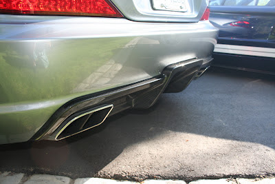 Mercedes SL 65 AMG Black Series Exhaust