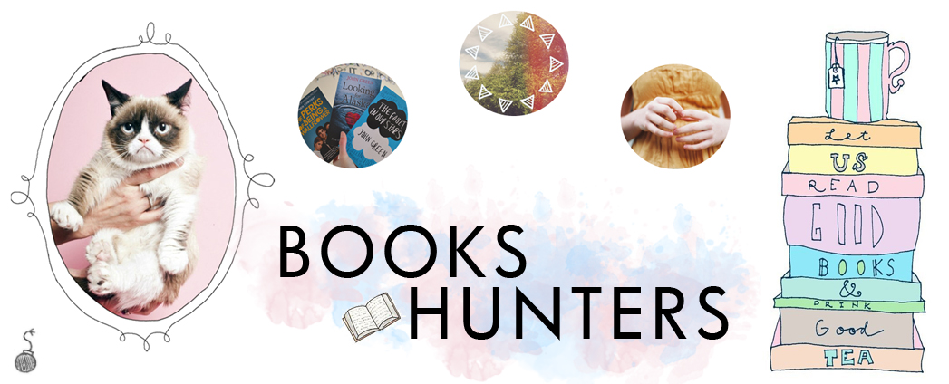 books hunters.