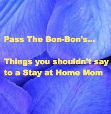 yoke pass the bon bons things you shouldn t say to a