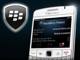 BackUp Data BlackBerry