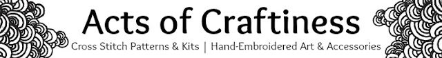 New Etsy shop Banner for Acts of Craftiness