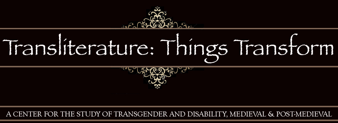 Transliterature: Things Transform