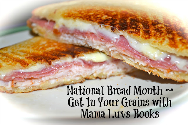 Grains with Mama Luvs Books ~ National Bread Month