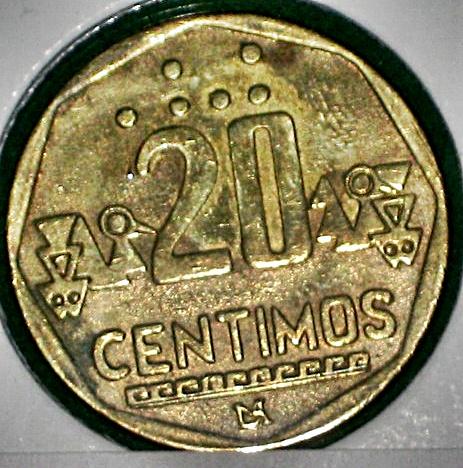 Moneda de Un Nuevo Sol de 1991 con las iniciales F.DIAZ 008