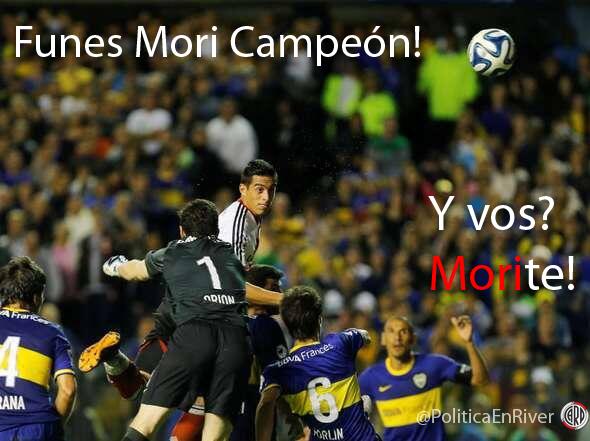 Afiche, River Campeón 2014, River Campeón, River Plate Campeón, River, River Plate, Funes Mori,