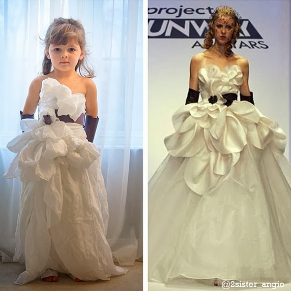 Austin Scarlett's wedding dress from Project Runway