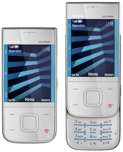 ... sound for any headphones, and the extended battery life gives more than  26 hours of playback time. The new Nokia 5330 XpressMusic mobile Phone  features: