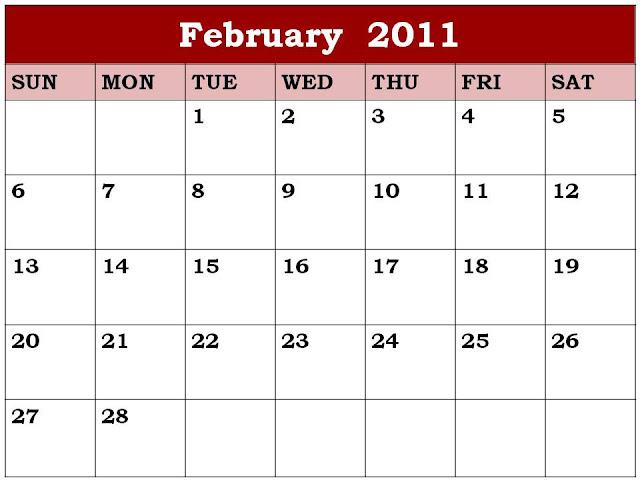 february 2011 wallpaper calendar. february calendar wallpaper