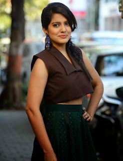 Vishakha Singh Stills at Tamanna and Shruti SS Collection Launch 1.jpg