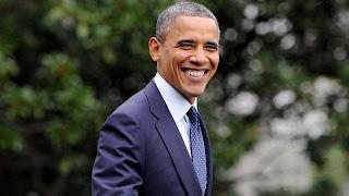 Barack Obama President Of America old smile