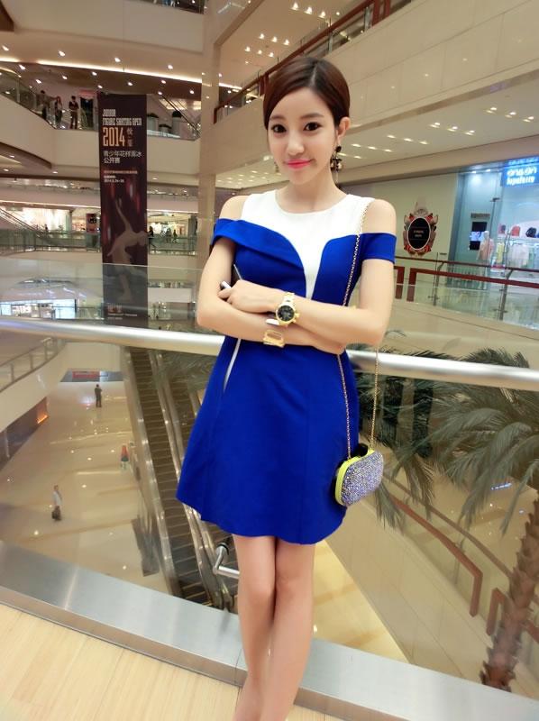 Busana: Dress Biru (BTA-135)