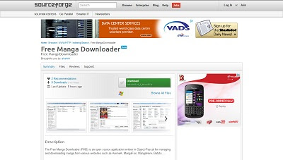 Free Manga Downloader, Download Manager