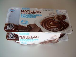 Natillas de chocolate sin azúcares añadidos - HACENDADO