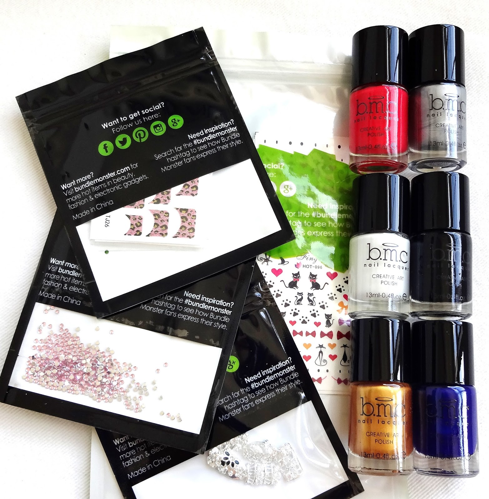 Bundle Monster Nail Supplies